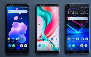 HTC U 12 is World's First Smartphone with Four Cameras & No Physical Buttons