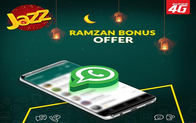 Jazz Introduces Ramadan Bonus Offer with Free Incentives