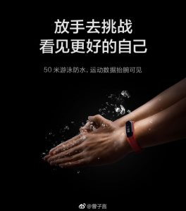 Xiaomi Mi Band 3 Full Specs & Pictures Leaked In Official Posters