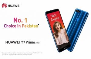 HUAWEI Y7 Prime 2018 is Pakistan's Bestselling Smartphone Ever