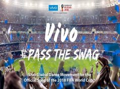 #PassTheSwag to the Official Song of the 2018 FIFA World Cup with Vivo!