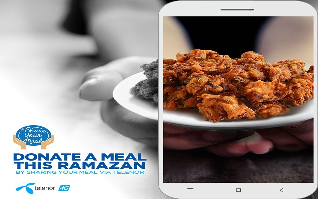 Telenor Pakistan continues to help citizens make a difference during Ramzan through its #ShareAMeal Campaign