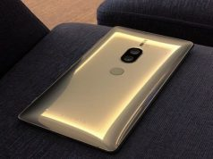Chrome Gold Sony Xperia XZ2 Premium Image Leaks Out