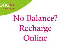 Zong Online Recharge