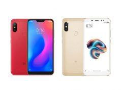 Xiaomi Redmi 6 Pro vs Redmi Note 5 Pro