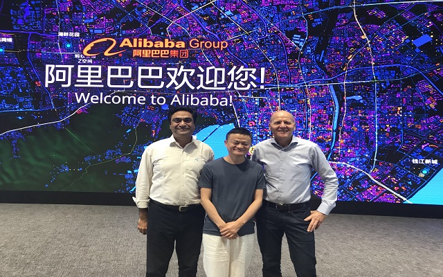 Telenor Delegation Calls on CEO Ali Baba, Jack Ma in Hongzhou