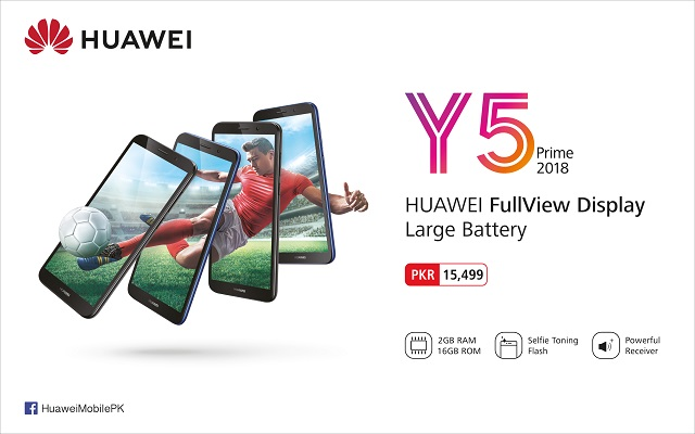 The Game-changing Entry-level HUAWEI Y5 Prime 2018 has Finally Arrived