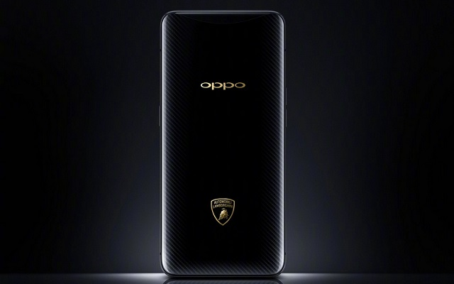 Here is the Oppo Find X Lamborghini Edition
