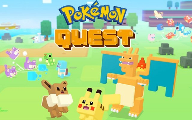 Pokemon Quest Mobile Game