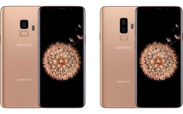 Sunrise Gold Samsung Galaxy S9