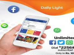Use Facebook, Twitter, WhatsApp & Line in Rs. 10 With Ufone Daily Light Bucket