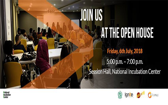 NIC Islamabad Invites Startups & Entrepreneurs at The Open House Information Session