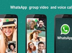 WhatsApp Group Video & Audio Call Rolls Out