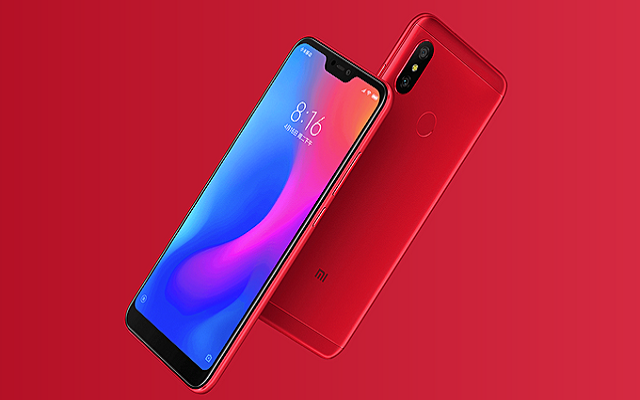 Xiaomi Redmi 6 Pro Goes Official with 19:9 Aspect Ratio