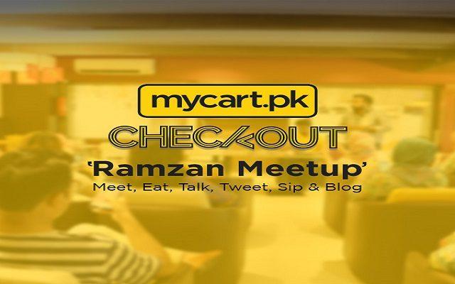 mycart.pk Organized #Checkout Bloggers Meet-up to Raise Awareness about Smart Online Shopping