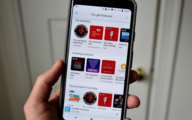 Google Podcasts App