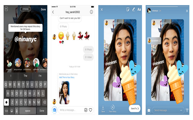 Instagram Update Lets you Re-Share Stories Posts from Friends