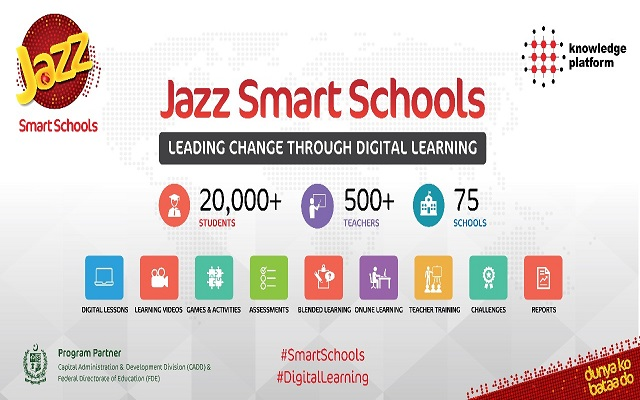 Jazz Smart School goes to GSMA Mobile World Congress Shanghai 2018