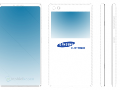 Samsung New Radical Galaxy Phone Leaks Shows Remarkable Device