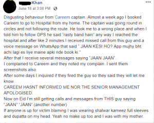 This is How Careem Captains in Pakistan are Sexually Harassing Girls