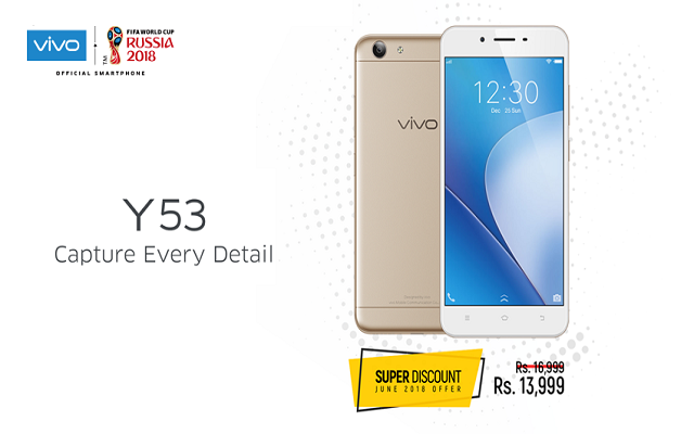 Vivo Brings Super Discount on the Affordable Y53 this June