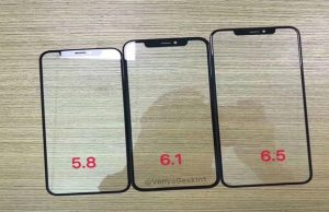 Upcoming iPhones Front Panels Leaked For All Three Variants
