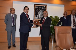 Minister for IT & Telecommunication Visited National Telecommunication Corporation HQs