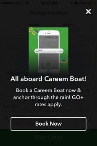 Careem Launches Careem Boat as Heavy Rains Turn Lahore into Paris