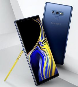 Official Press Render of Samsung Note 9 Leaked