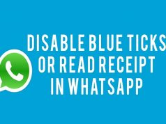 How to Disable Blue Ticks on WhatsApp