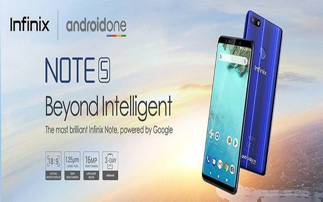"""Infinix """"Beyond Intelligent"""" Note 5 – The Best Note Yet – Available on Goto.com.pk"""