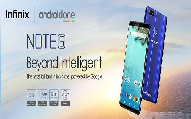"Infinix ""Beyond Intelligent"" Note 5 – The Best Note Yet – Available on Goto.com.pk"