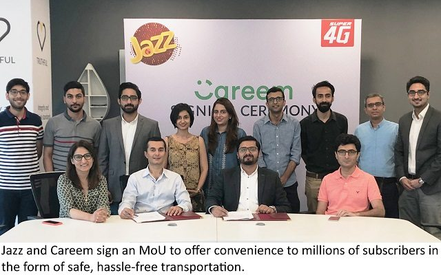 Jazz and Careem Collaborate to Provide Exciting Offers to Users