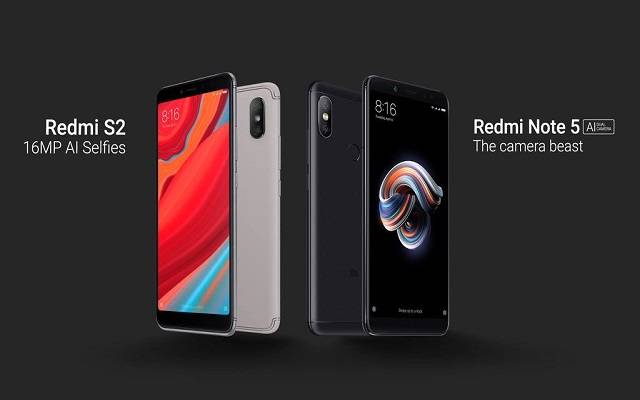 Xiaomi announces Redmi S2 and Redmi Note 5 in Pakistan