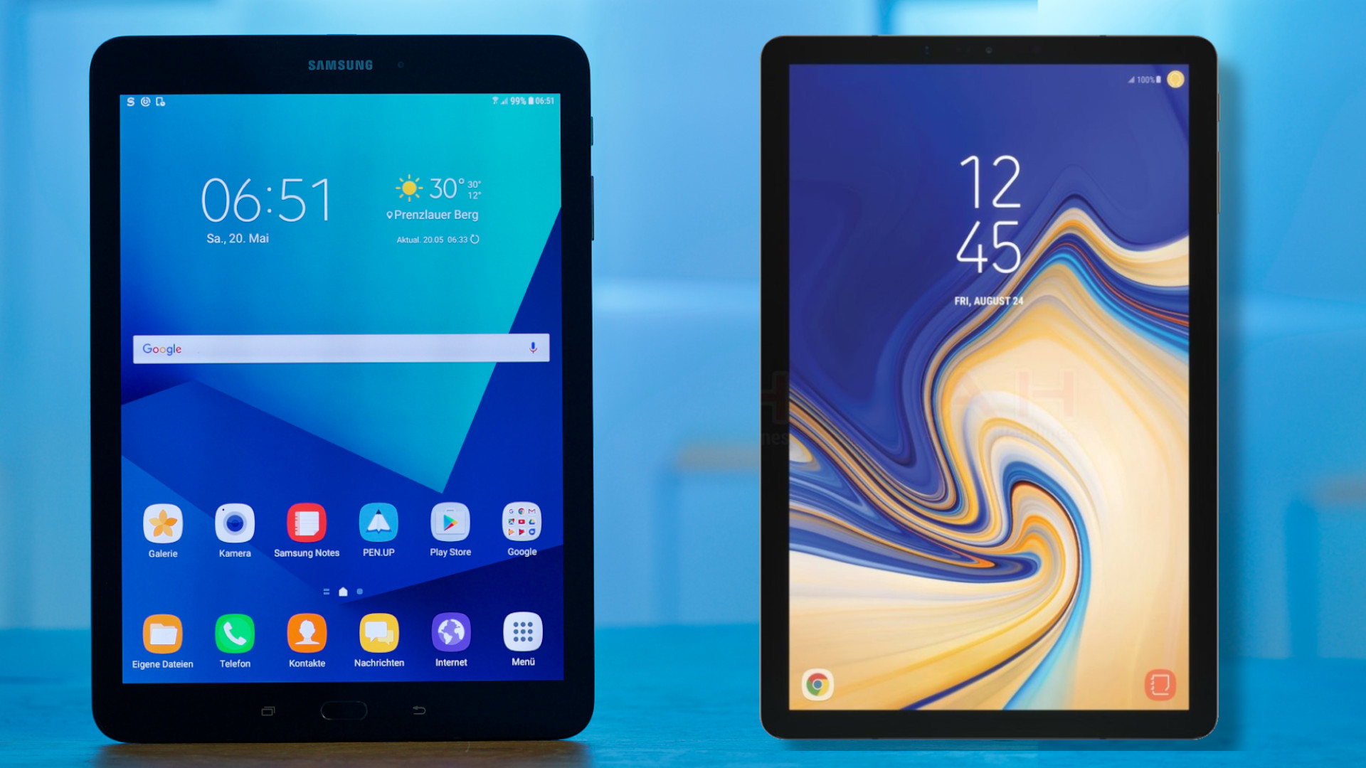 Samsung Galaxy Tab S4 Bezel Screen