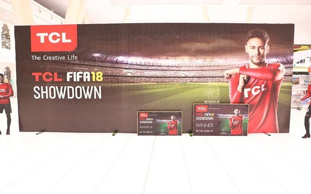 TCL Holds Biggest FIFA18 Showdown Event in Lahore