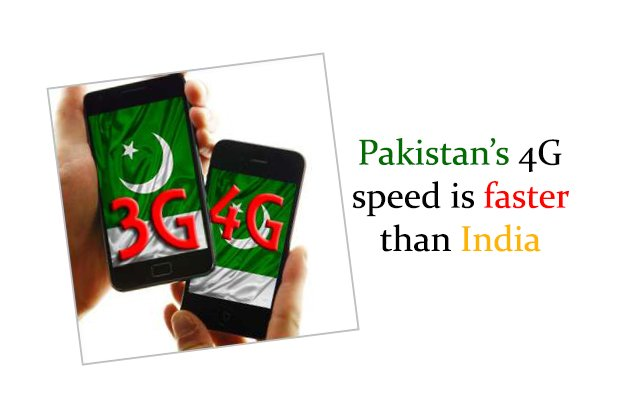 Pakistan's 4G Speed is faster than India