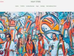 Imran Khan's Online Insaf Store