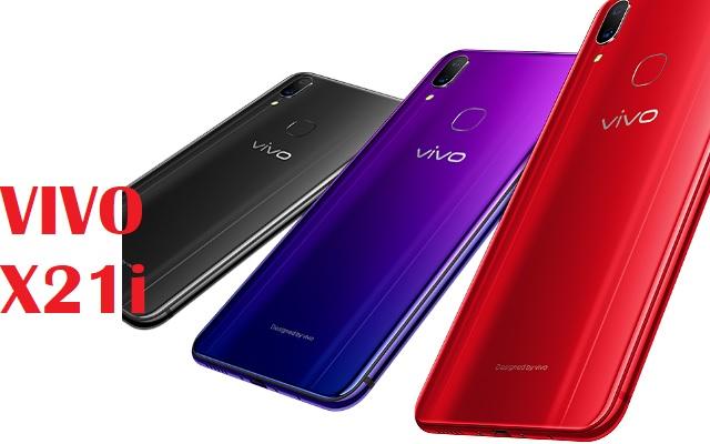 vivo X21i night purple color