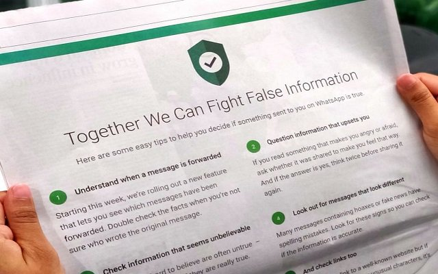WhatsApp to Limit Message Forwarding for Stopping Spread of Fake News