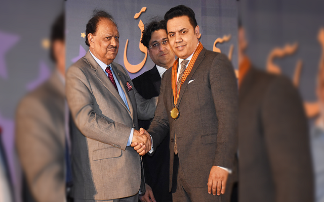 President of Pakistan Presents Wi-tribe with Technology Innovation Award