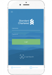 Now Experience Mobile Banking Service with Standard Chartered Mobile Face Login