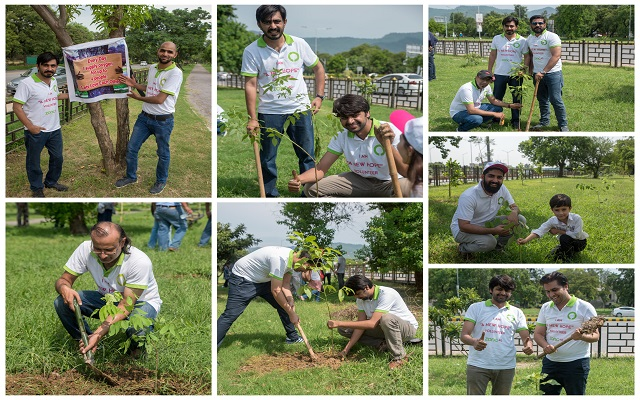 Zong 4G's New Hope Volunteers Spend Their Time Planting Trees