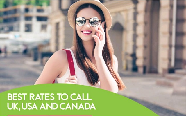 Now Enjoy Best Call Rates to UK, USA and Canada with Zong Batooni Flight