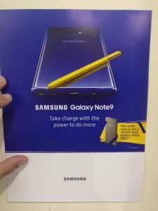 Samsung Galaxy Note 9 Pre-Booking in Pakistan Starts today