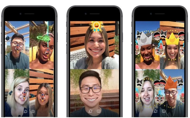 Facebook Messenger Adds AR Games Feature in Video Chats