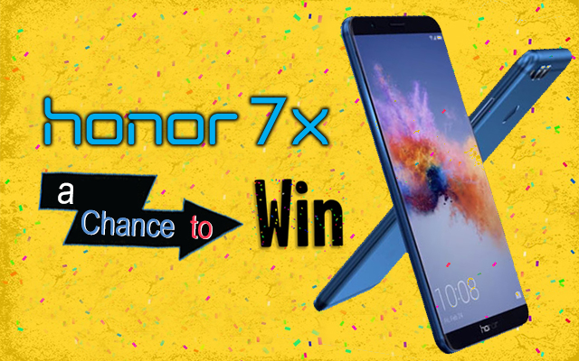 Honor 7x Giveaway