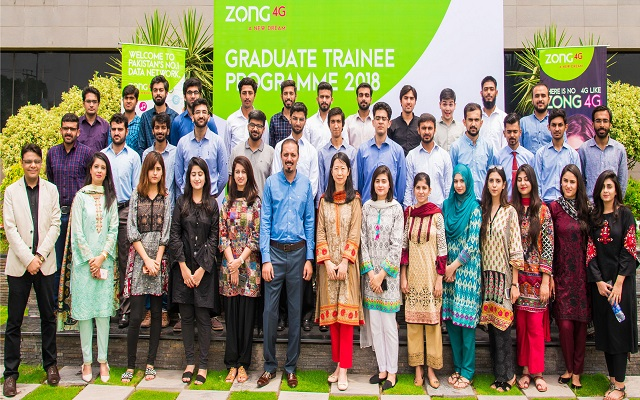 Zong 4G's Graduate Trainee Program 2018