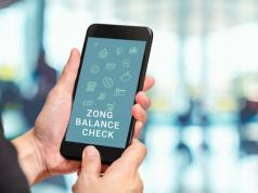 Zong Balance Check Code 2018