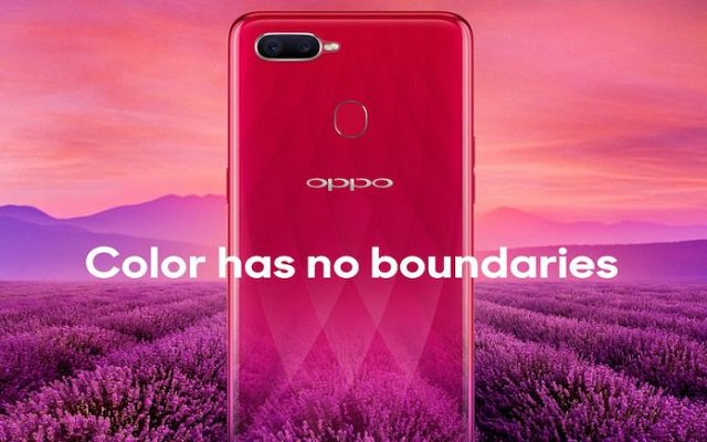From last few days,Oppo has been teasing upcoming F9, highlighting its small triangle shaped notch and VOOC charging.